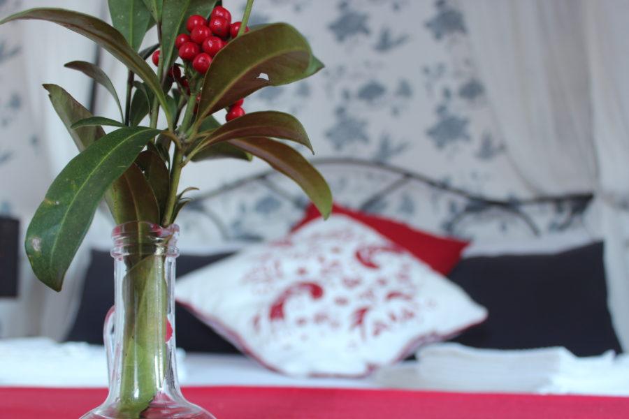 L'atmosfera elegante e riservata delle nostre stanze incornicerà un'esperienza romantica.